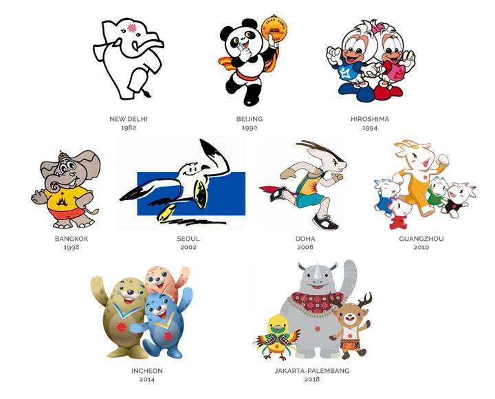 AGames_mascots